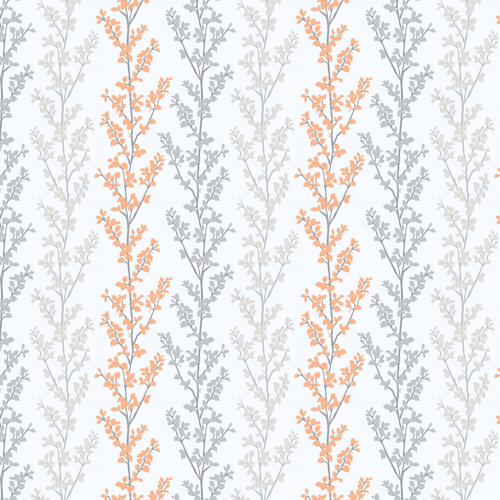 Galerie Branches Orange Wallpaper - Product code: G56332