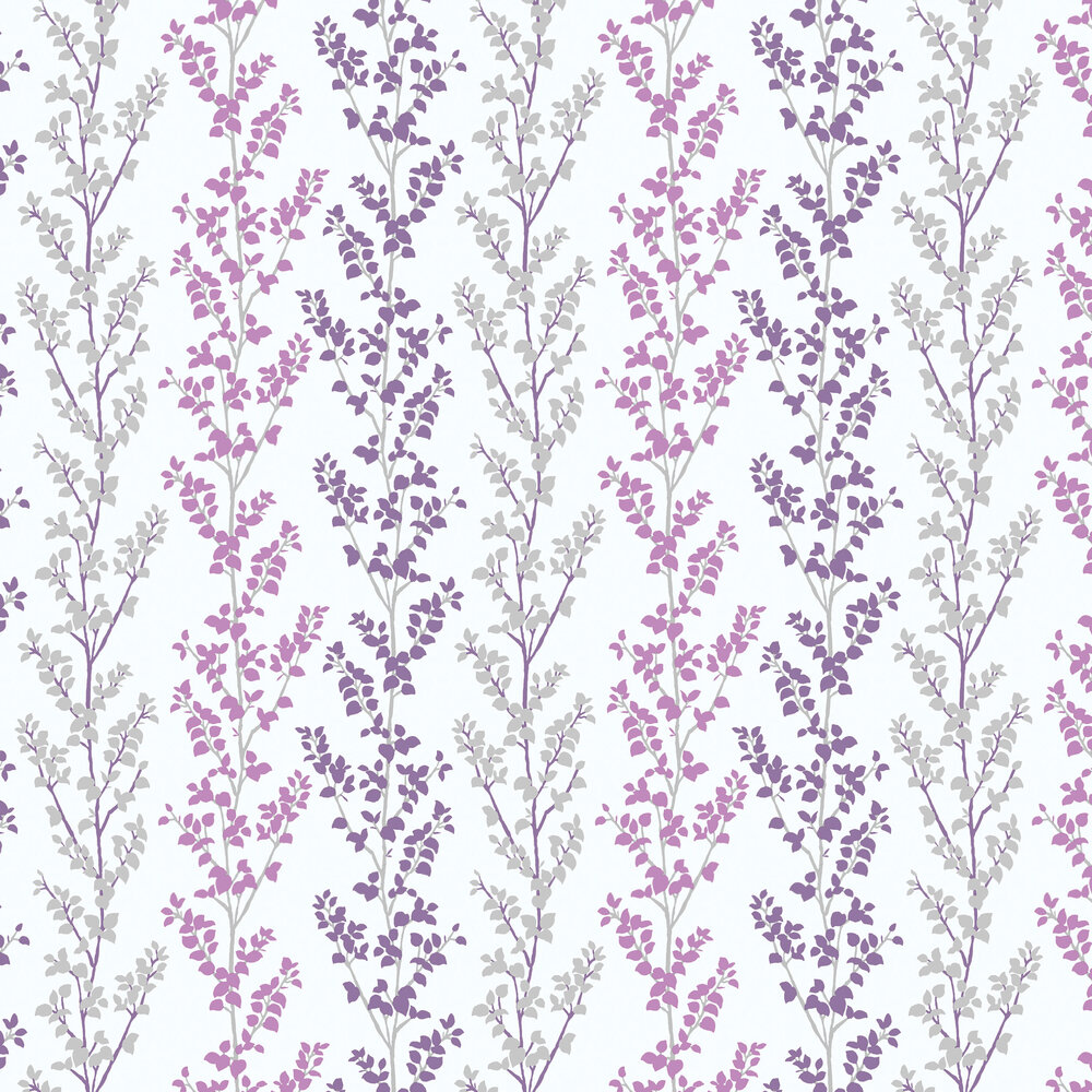 Galerie Branches Purple Wallpaper - Product code: G56333