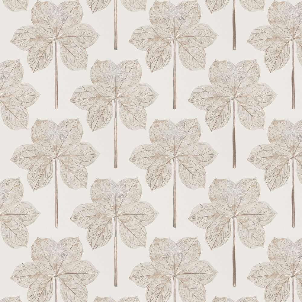 Lovers Knot Wallpaper - Ivory - by Harlequin