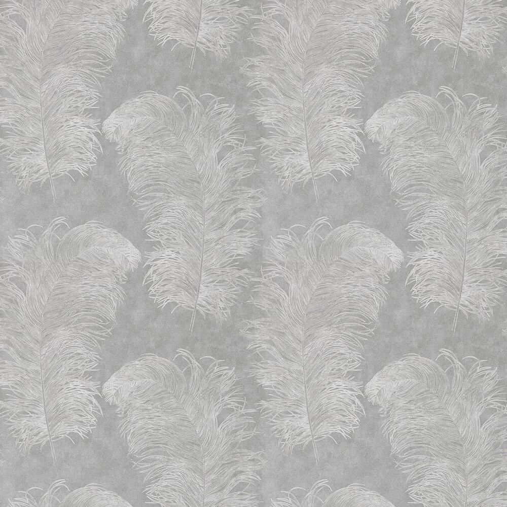 Operetta Wallpaper - Slate - by Harlequin