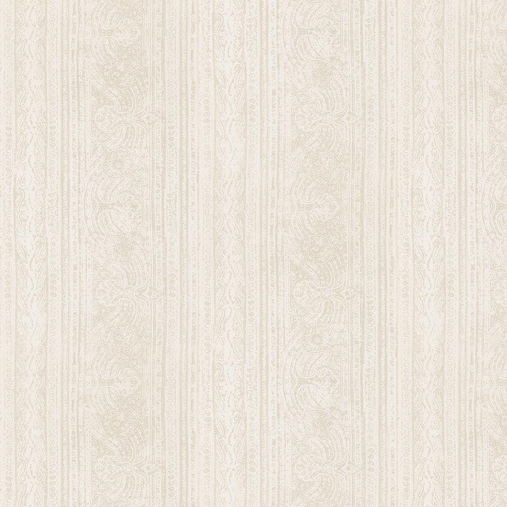 Odisha  Wallpaper - Ivory/Shell - by Harlequin