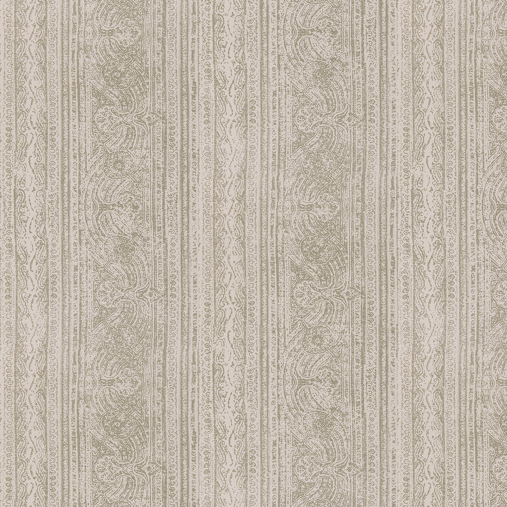 Odisha  Wallpaper - Almond/Mink - by Harlequin