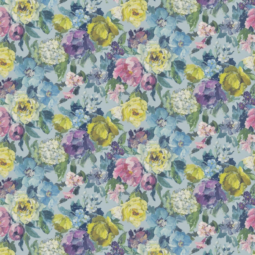 Roseto Wallpaper - Celadon - by Designers Guild