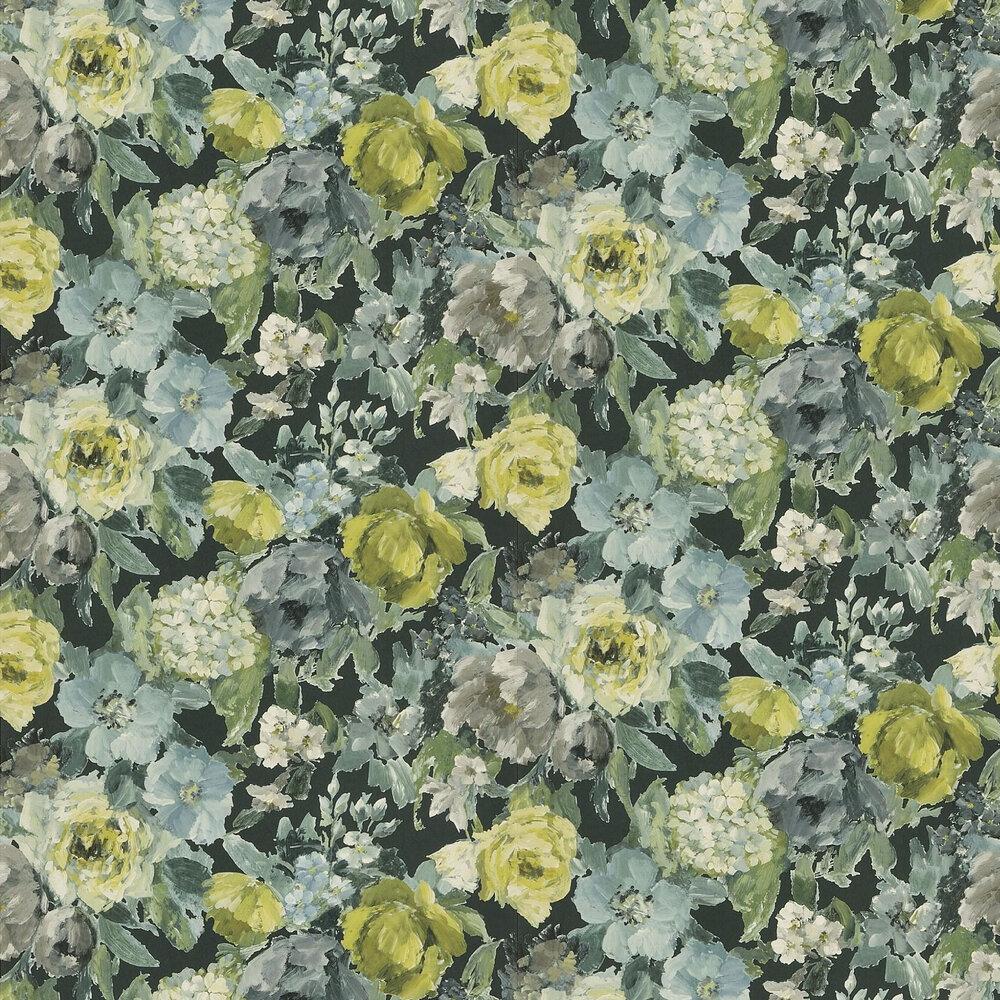 Roseto Wallpaper - Slate - by Designers Guild