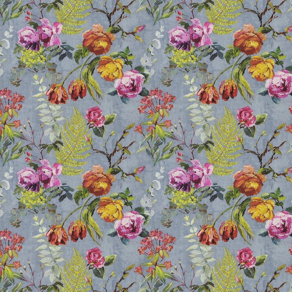 Tulipani Wallpaper - Graphite - by Designers Guild