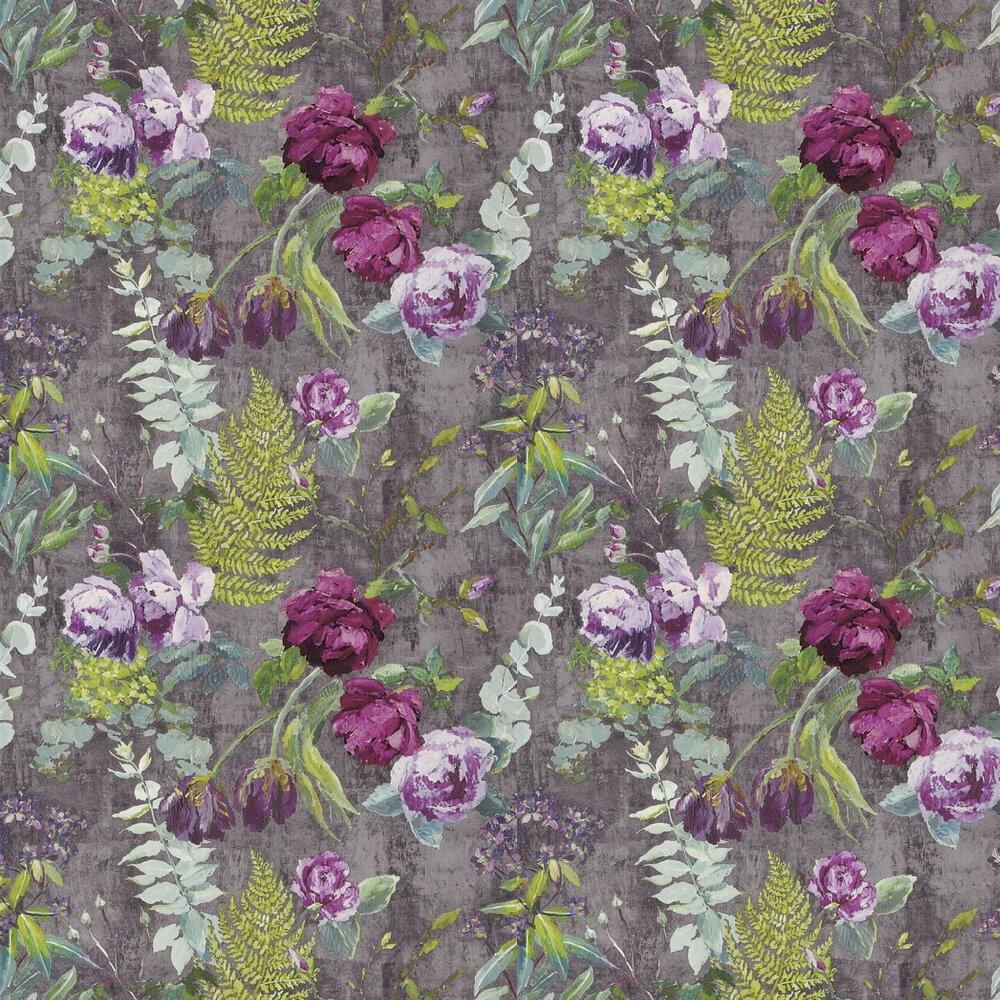 Tulipani Wallpaper - Amethyst - by Designers Guild