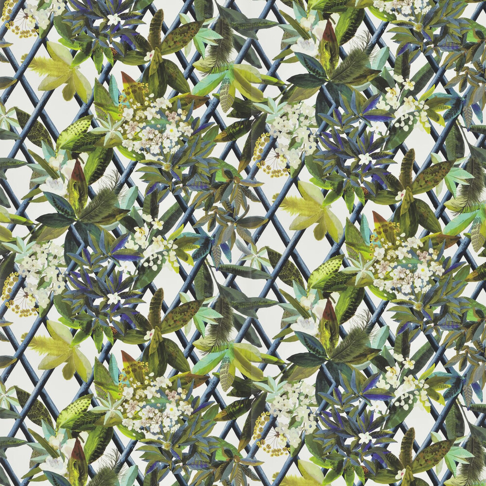 Canopy Wallpaper - Saphir - by Christian Lacroix