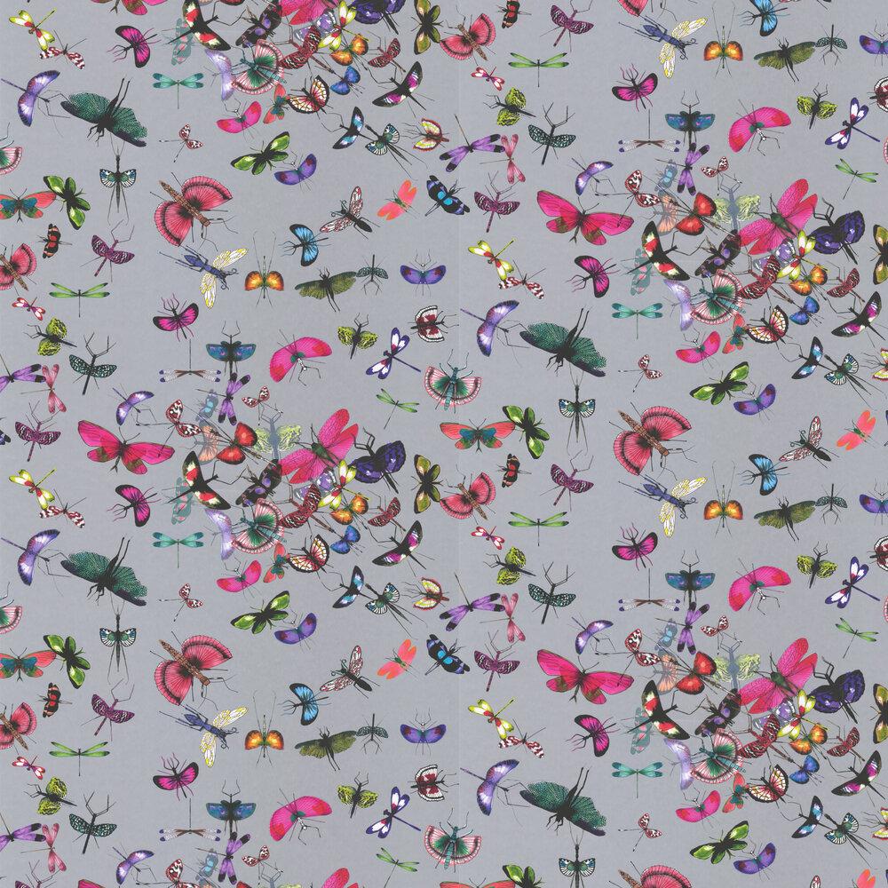 Mariposa Wallpaper - Perle - by Christian Lacroix