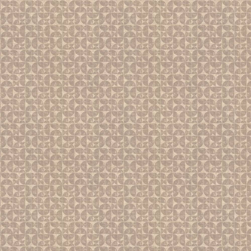 Acton Wallpaper - Oatmeal - by Ian Mankin