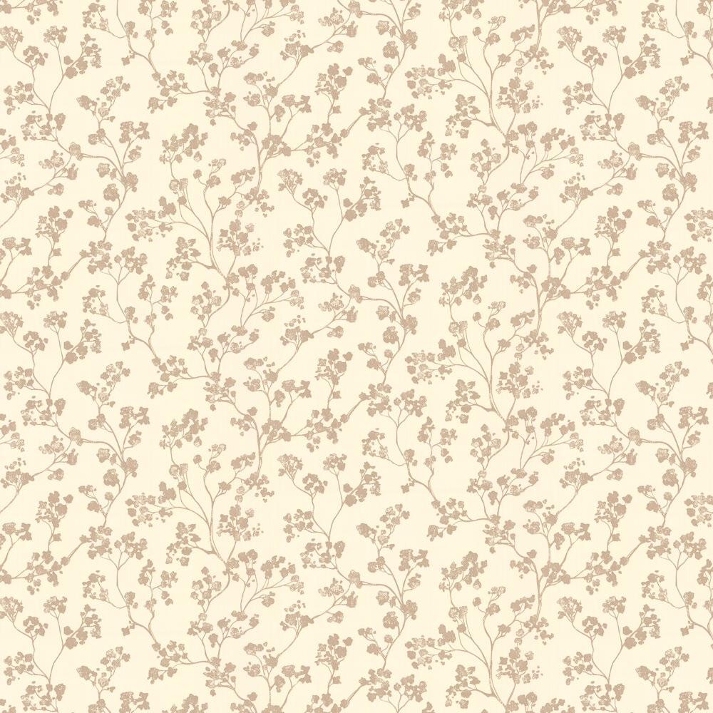 Kew Baltic Wallpaper - Oatmeal - by Ian Mankin