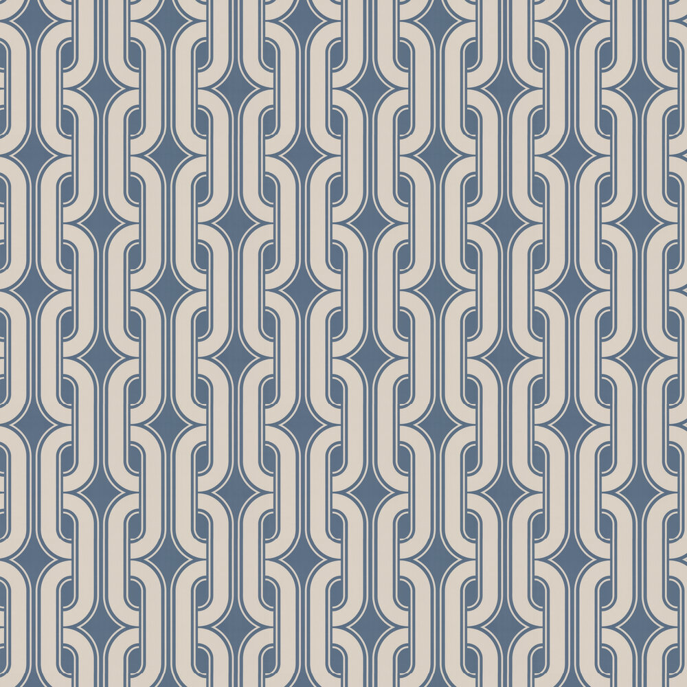 Little Greene Lavaliers Low Wave Wallpaper - Product code: 0288LALOWWA