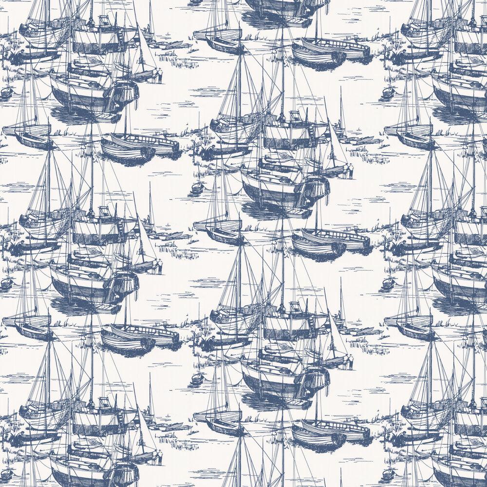 Zingara Wallpaper - Delft - by Little Greene