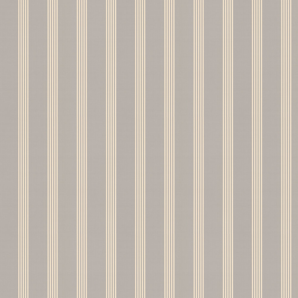 Oxford Wallpaper - Grey - by Ian Mankin