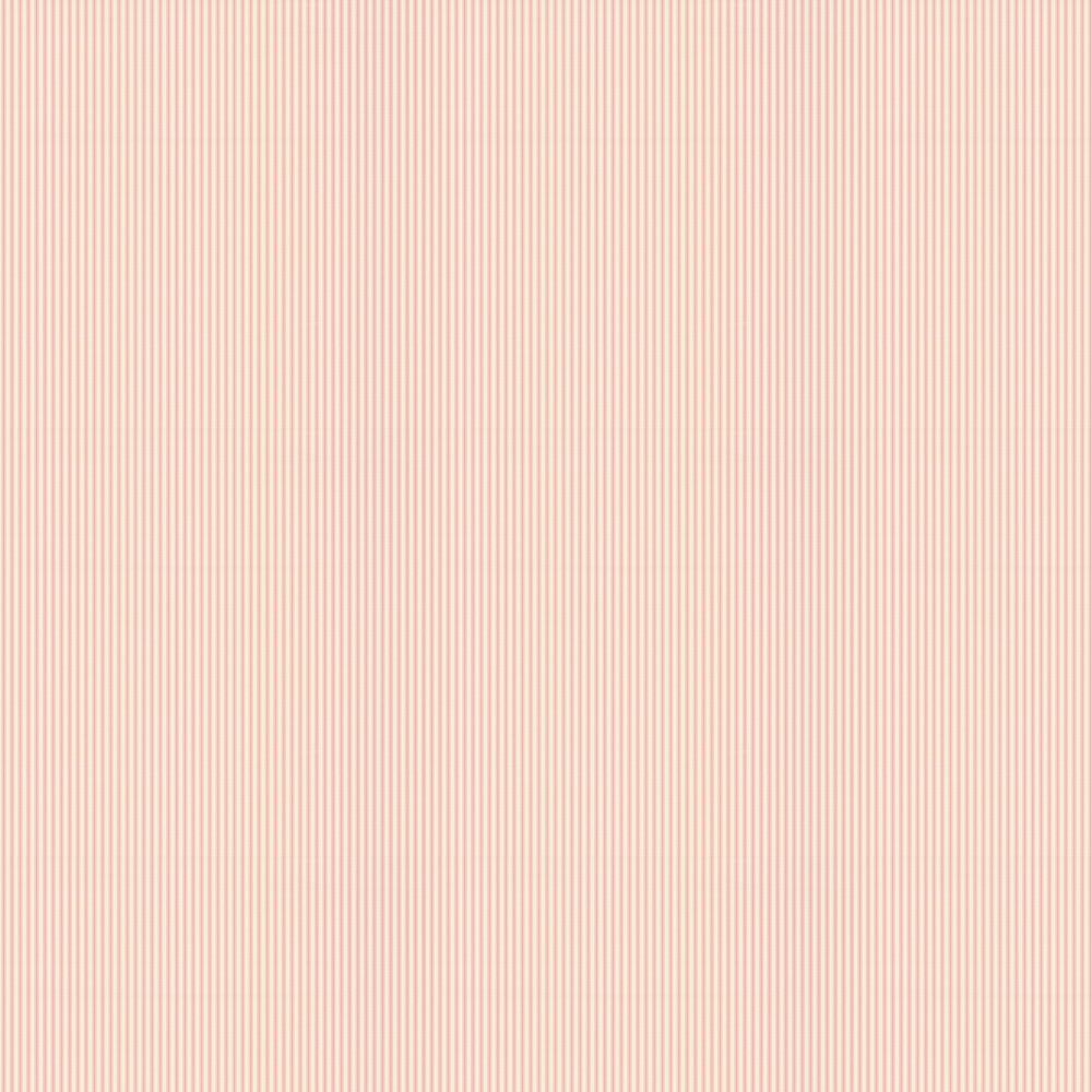 Ticking 01 Wallpaper - Pink - by Ian Mankin