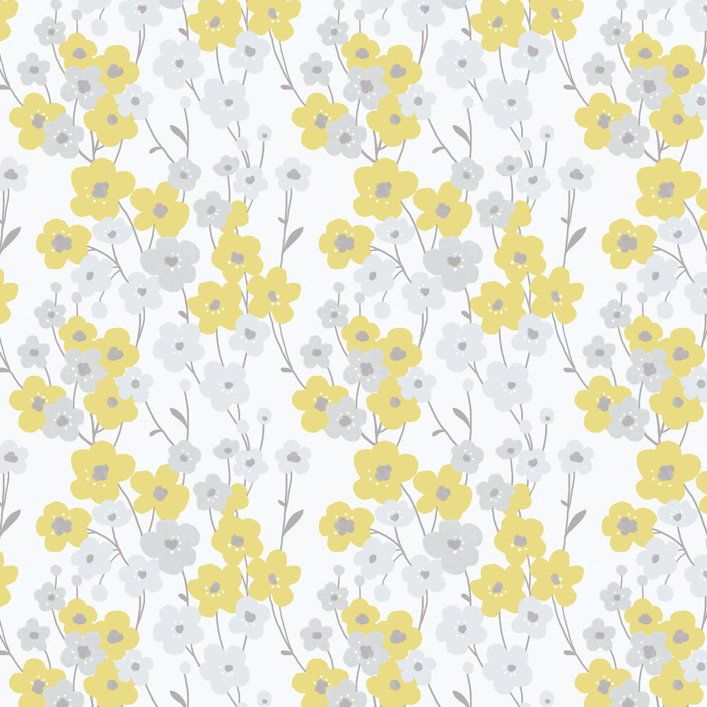 Galerie Blossom Yellow Wallpaper - Product code: G56350
