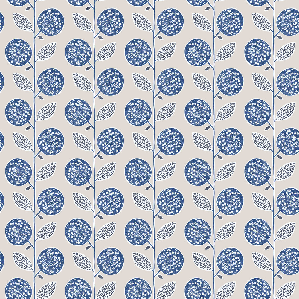 Galerie Dandelion Trail Blue Wallpaper - Product code: G56351