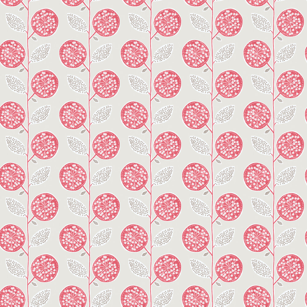 Galerie Dandelion Trial Red Wallpaper - Product code: G56354