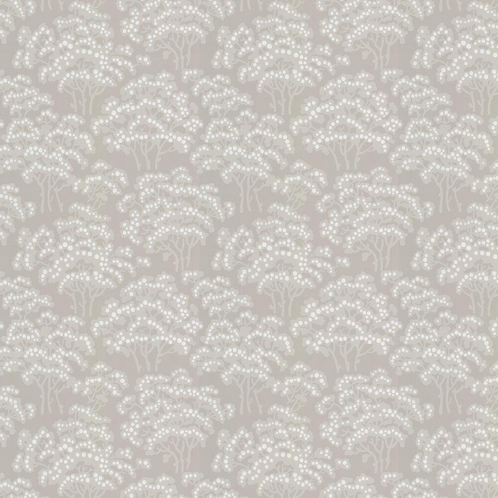 Hornbeam Wallpaper - Stone - by Farrow & Ball