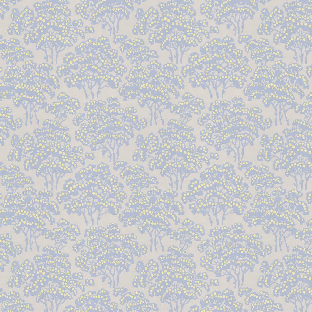 Hornbeam Wallpaper - Pale Blue - by Farrow & Ball