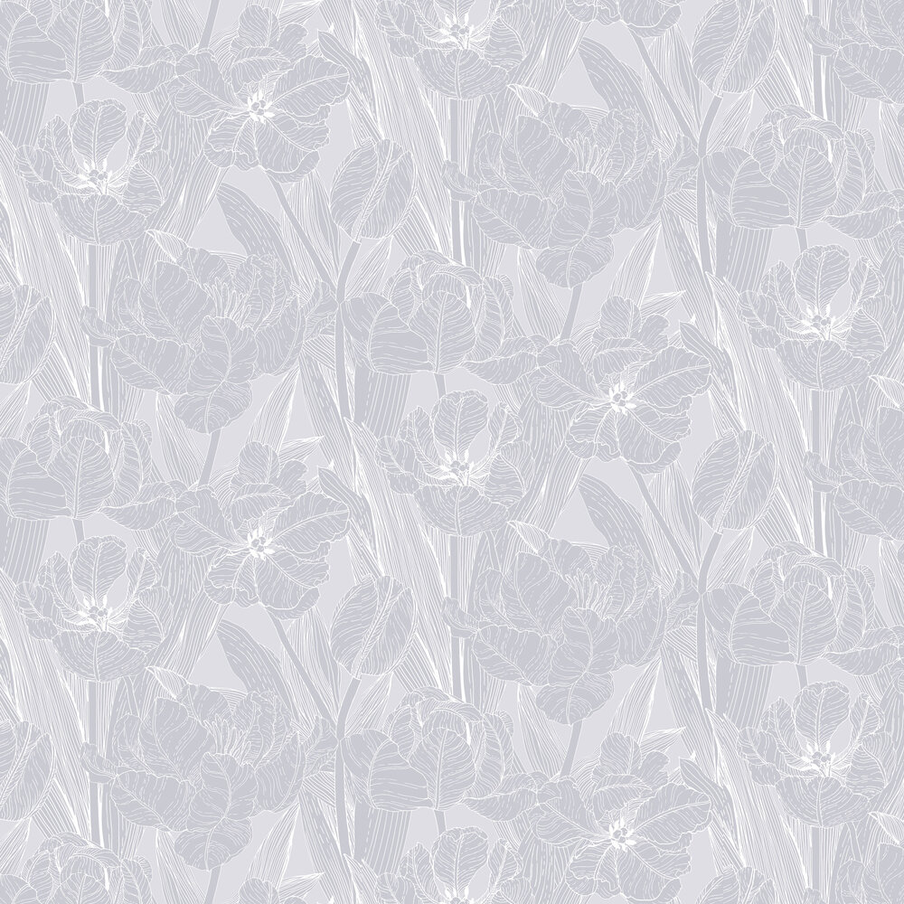 Vallila Jolie Grey Wallpaper - Product code: 5139-1