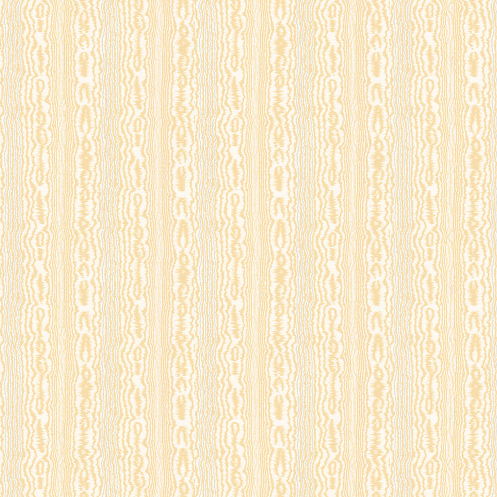 Tagus Wallpaper - Yellow / Ivory - by Nina Campbell