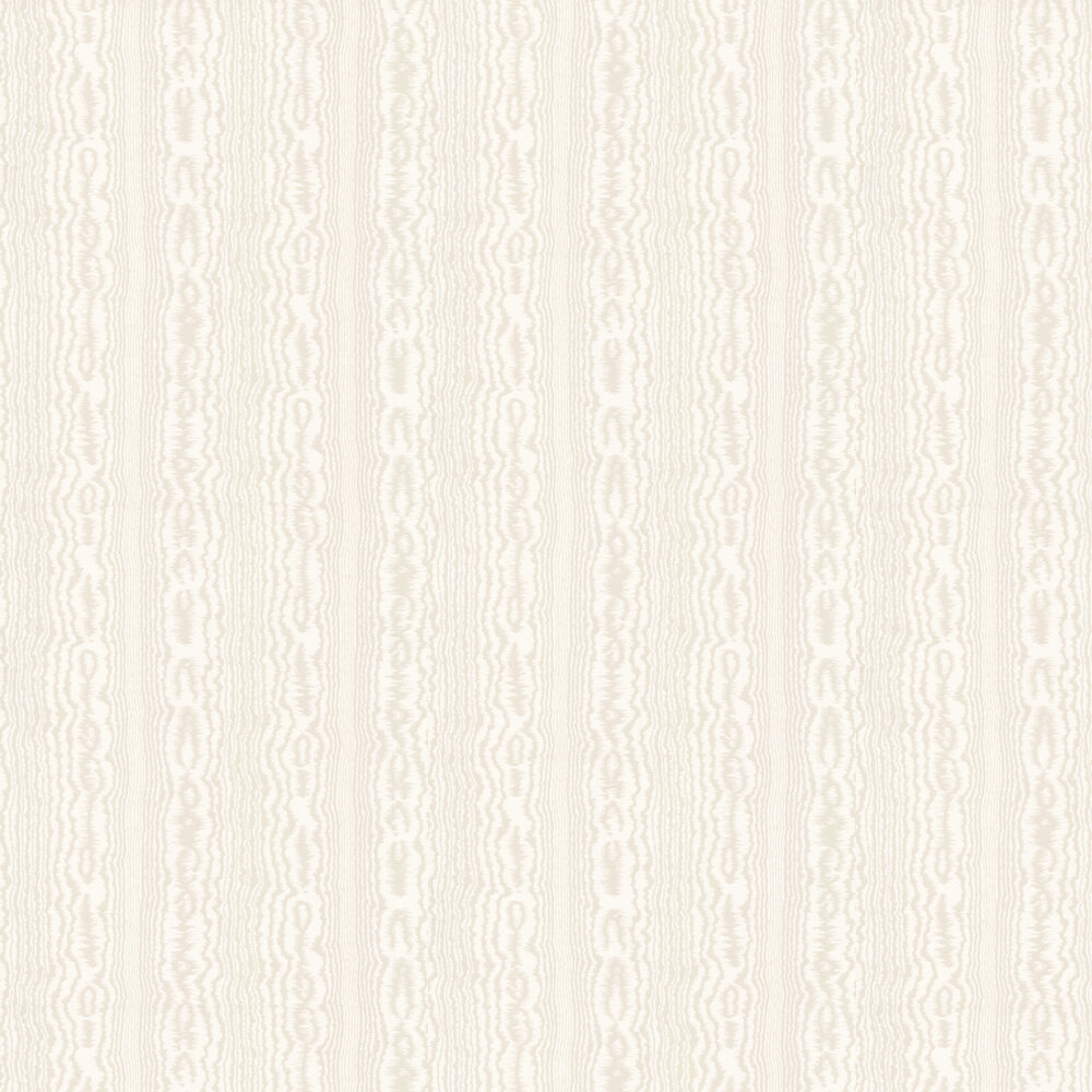 Tagus Wallpaper - Stone - by Nina Campbell