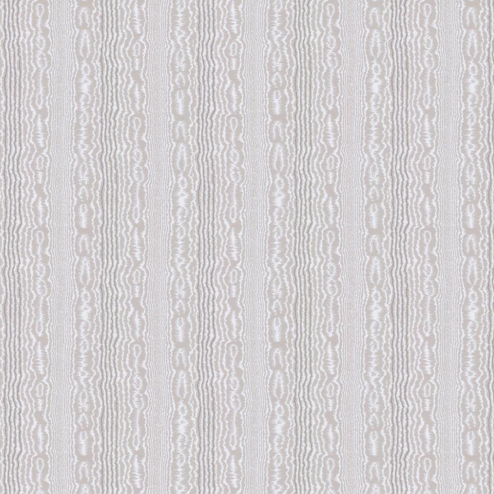 Tagus Wallpaper - Grey - by Nina Campbell