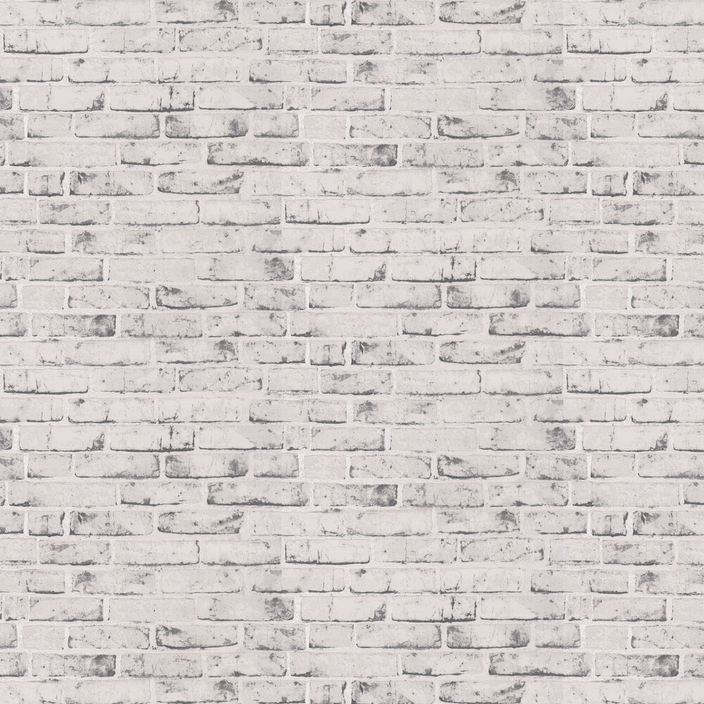 Rustic Brick Wallpaper - Grey - by Albany