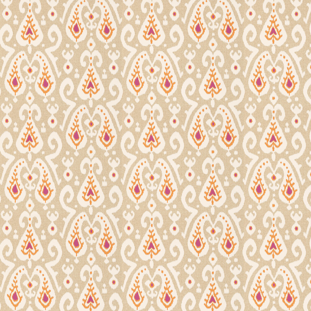 Sanderson Java Brights / Linen Wallpaper - Product code: 215438