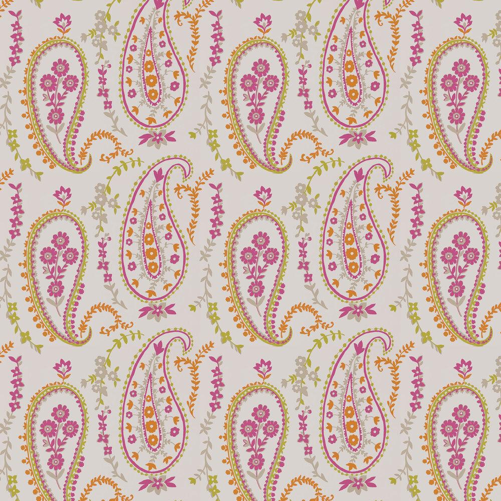Sanderson Jamila Multi/ Brights Wallpaper - Product code: 215435