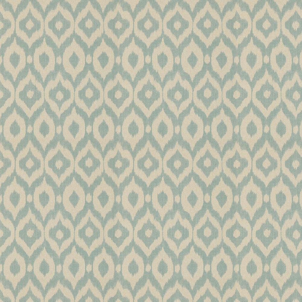 Sanderson Surin Aqua / Linen Wallpaper - Product code: 215442