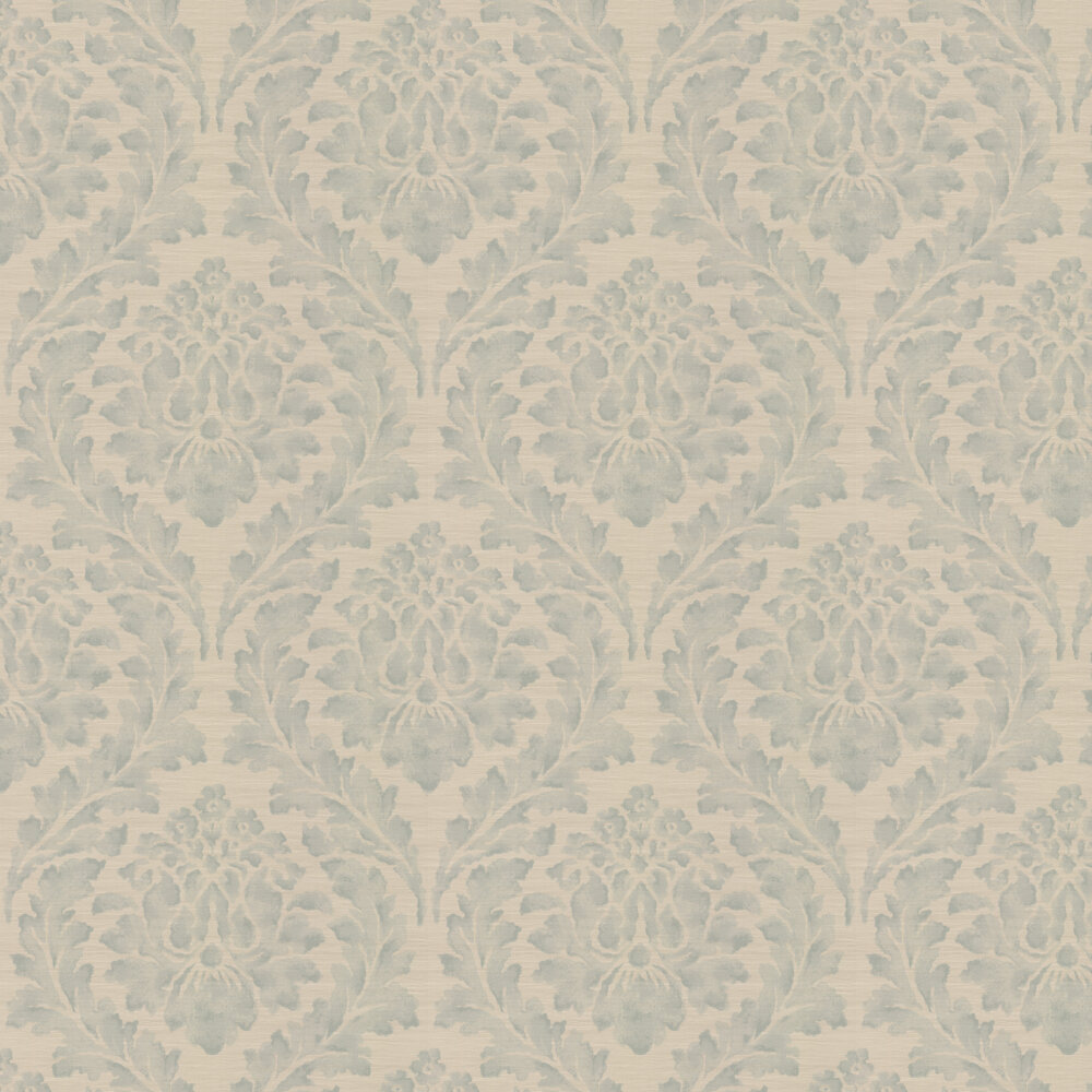Larkhall Wallpaper - Old Blue - by Colefax and Fowler