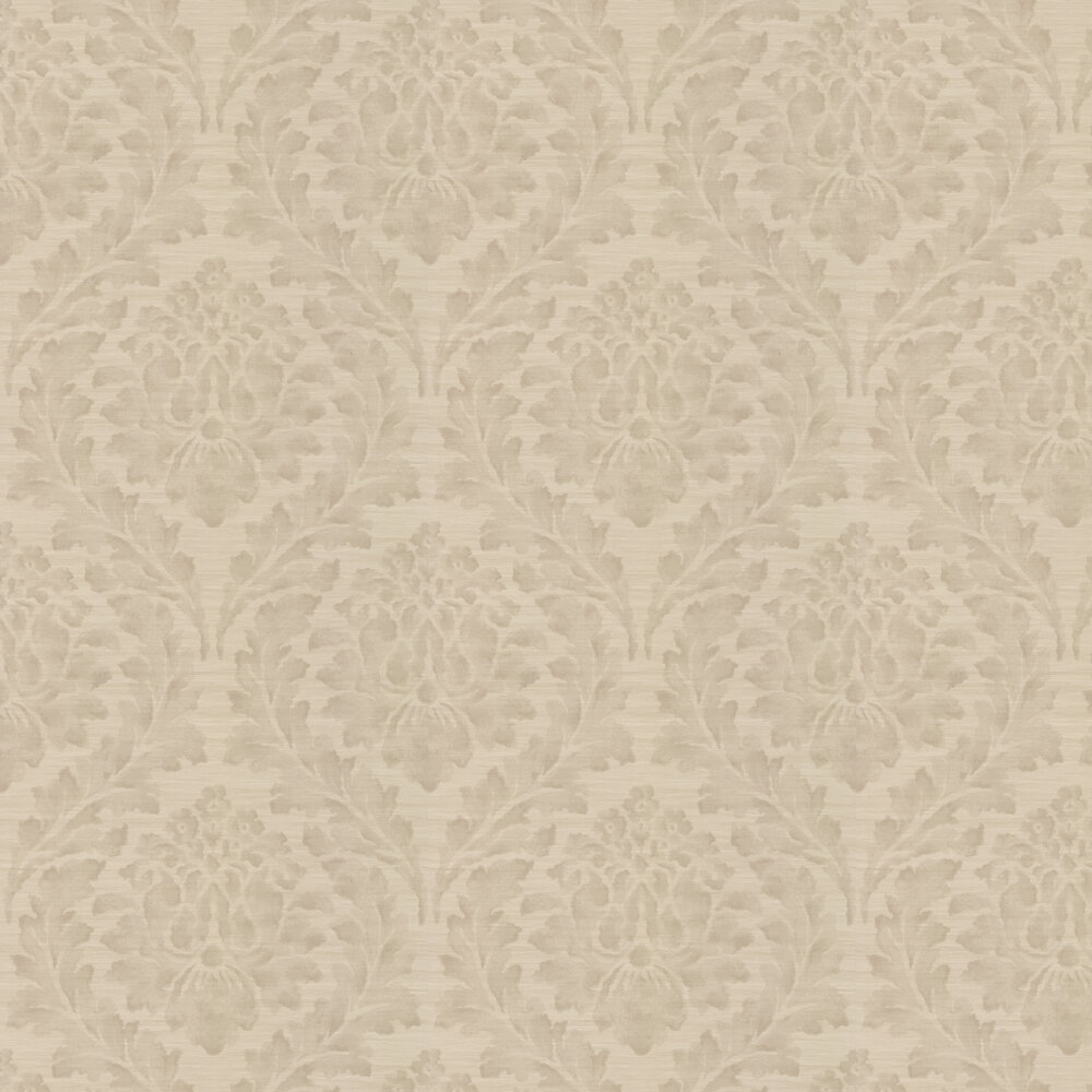 Larkhall Wallpaper - Linen - by Colefax and Fowler