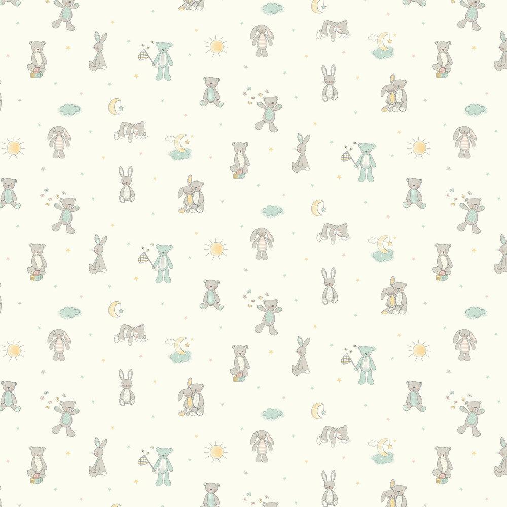 Arthouse Bear Hugs Mint Wallpaper - Product code: 667400