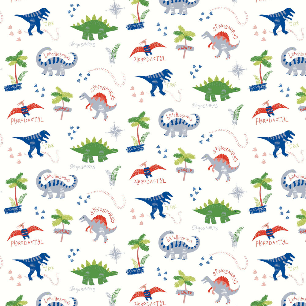 Arthouse Dino Doodles Multi Wallpaper - Product code: 667500