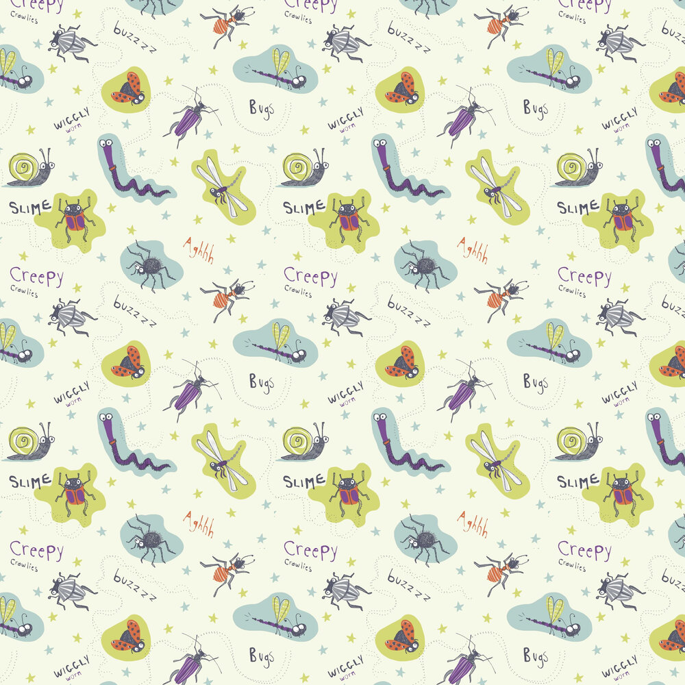 Arthouse Dont Bug Me Lime Wallpaper - Product code: 667601