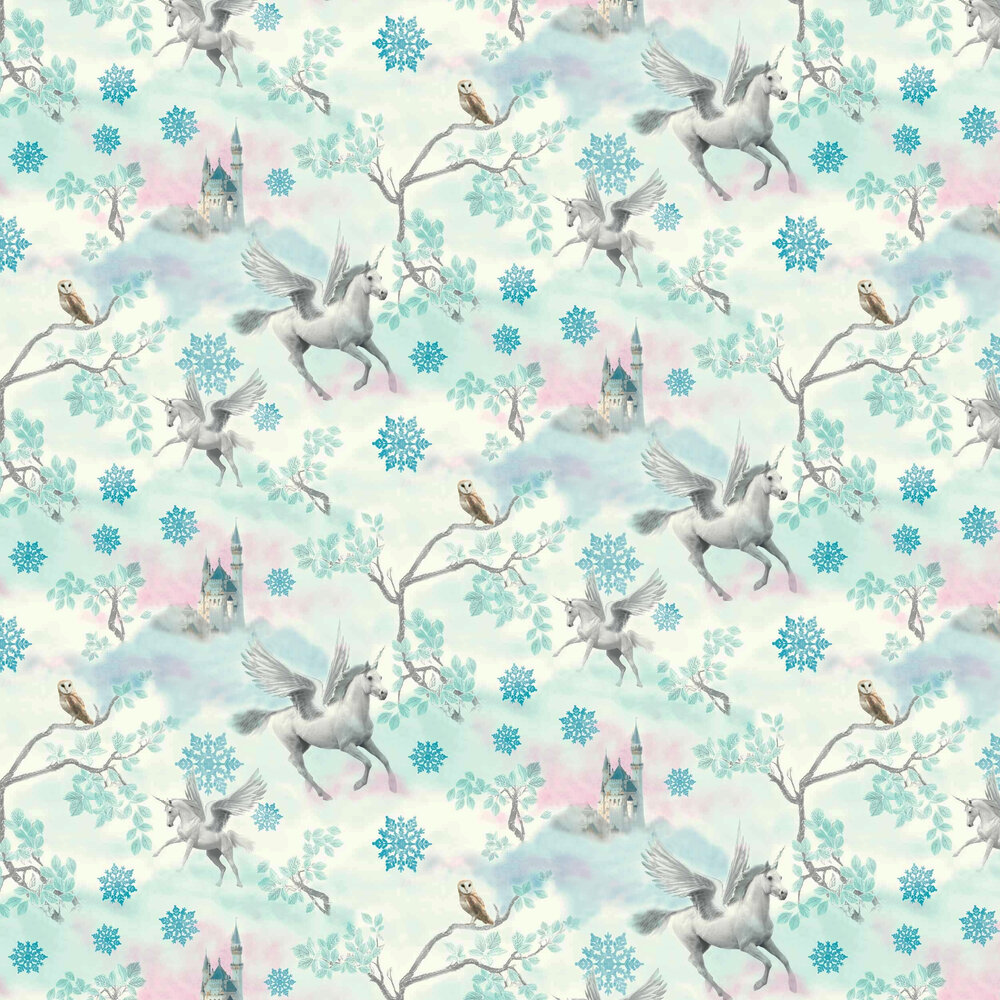 Arthouse Fairytale Ice Blue Wallpaper - Product code: 667800