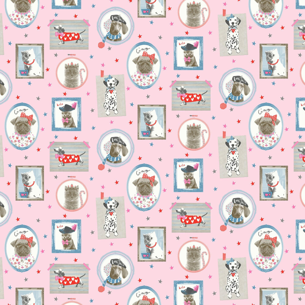 Arthouse Hall of Fame Pink Wallpaper - Product code: 668401