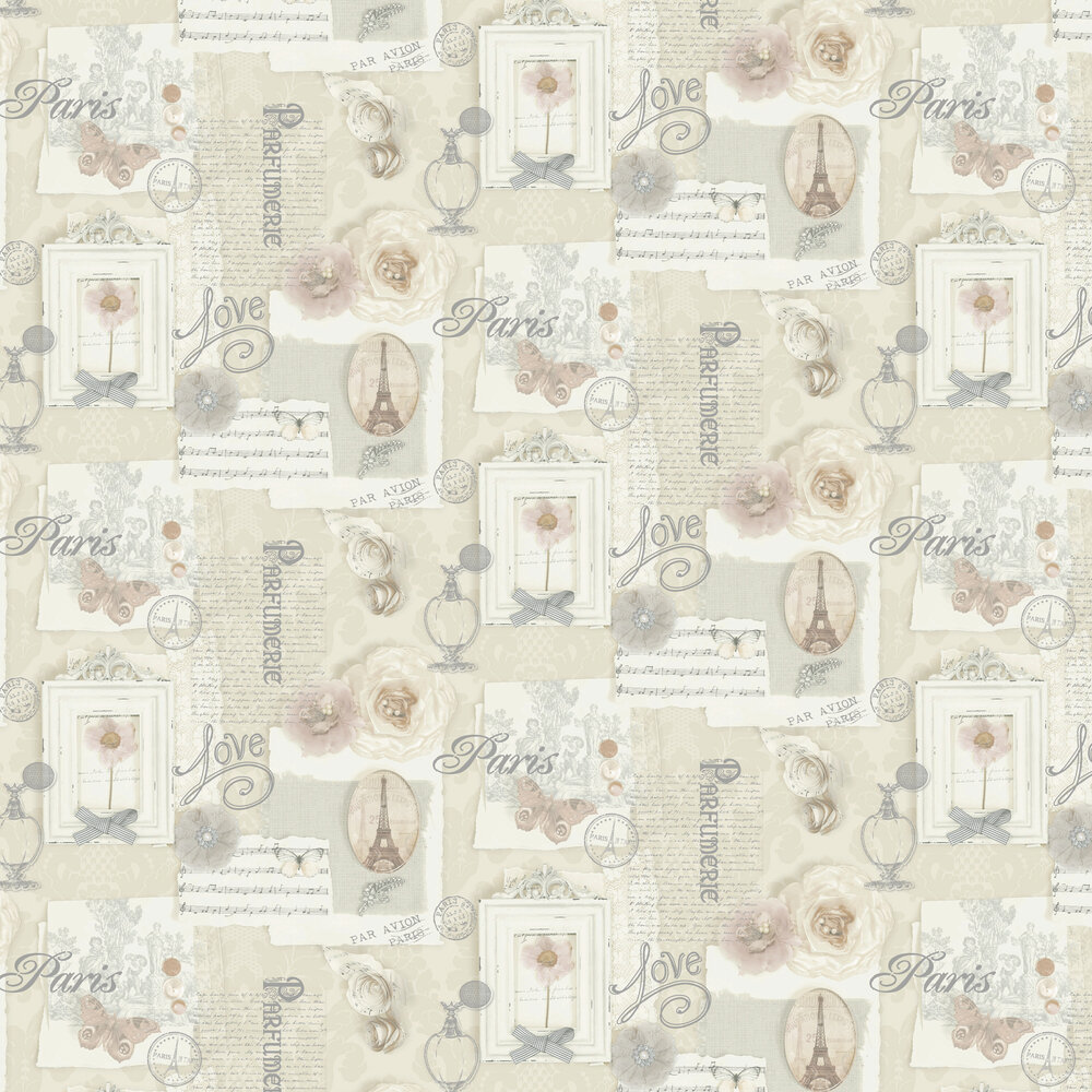 Arthouse Felicity Natural Wallpaper - Product code: 665400