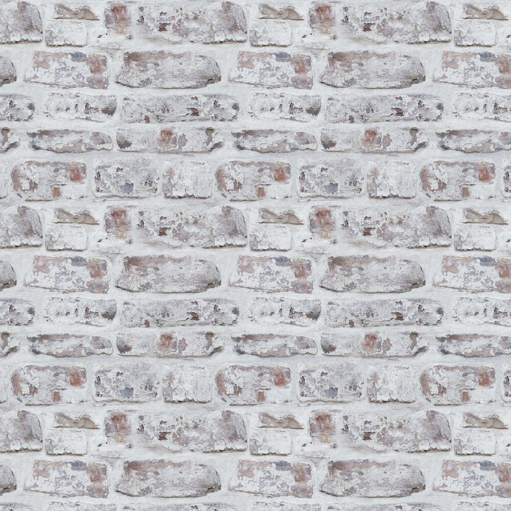 Arthouse Whitewashed Wall Wallpaper - Product code: 671100