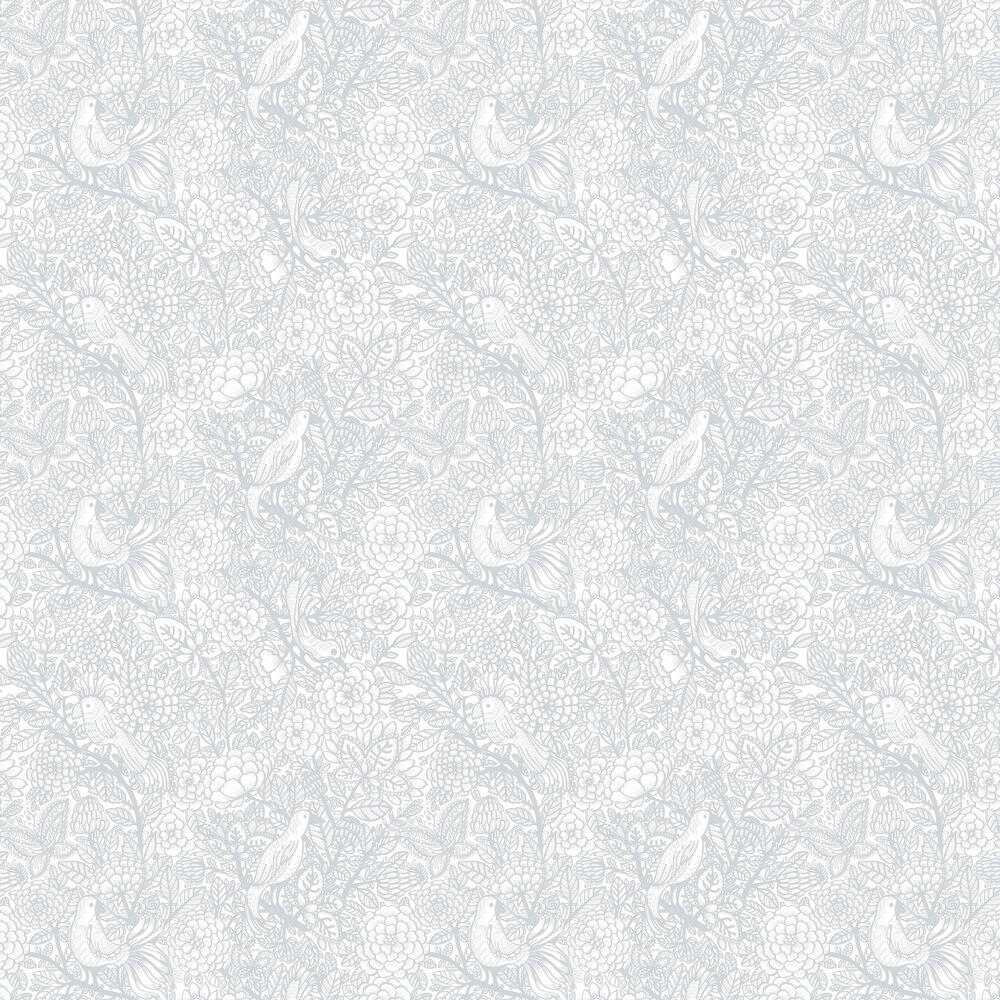Vallila Garambola Grey Wallpaper - Product code: 5218-1
