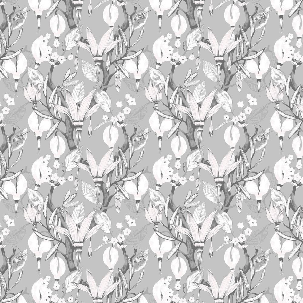Vallila Haltiatar Grey Wallpaper - Product code: 5221-1