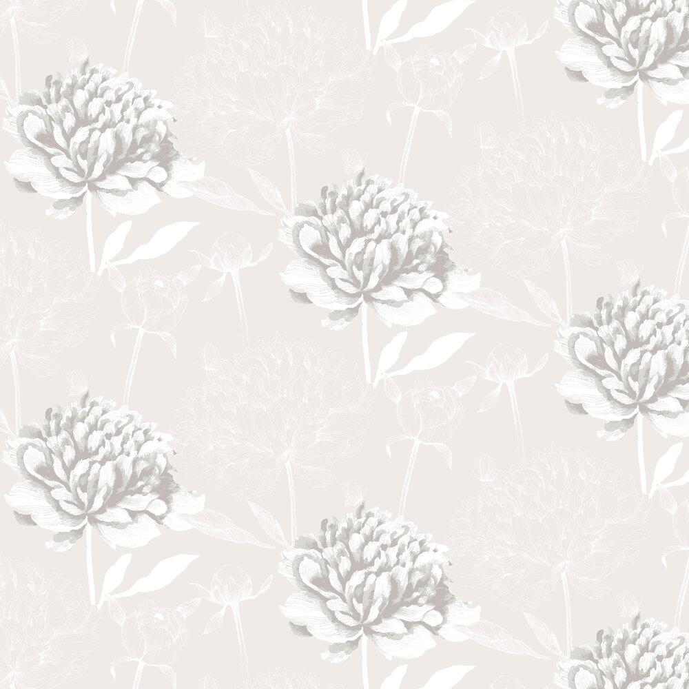 Vallila Vanha Suola Beige Wallpaper - Product code: 5222-2
