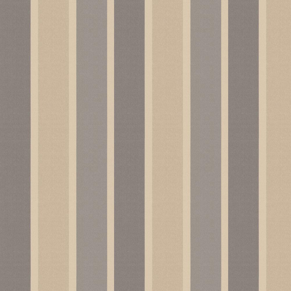 Tie Dye Stripe Wallpaper - Grey - by Kandola
