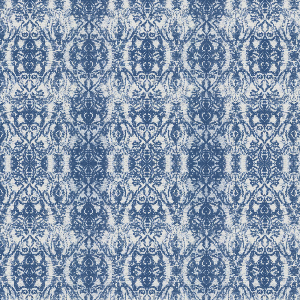 Kandola Raja Royal Blue Wallpaper - Product code: DW1621/01
