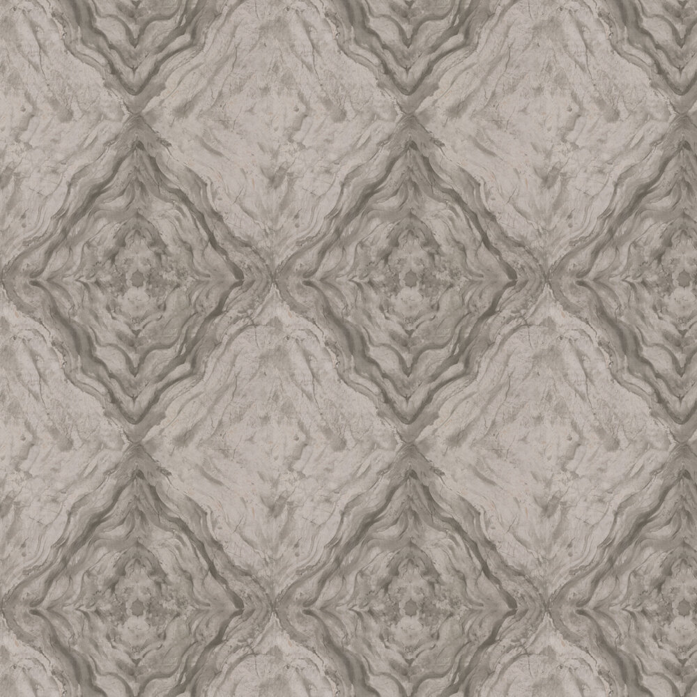 Tycoon Marble Wallpaper - Grey - by Kandola