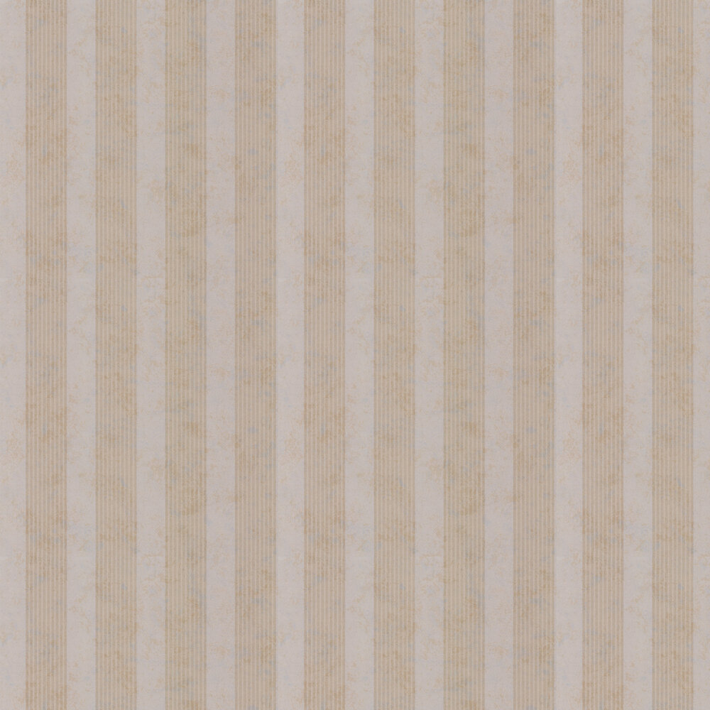Empire Stripe Wallpaper - Brass - by Kandola