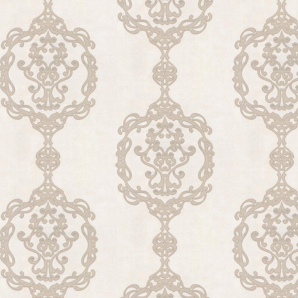 Kandola Sovereign Satin Nickel Wallpaper - Product code: W1622/01/001