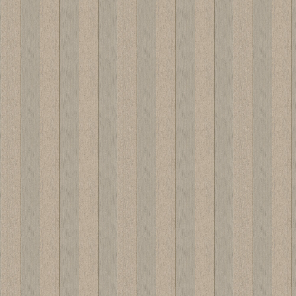Silk Stripe Wallpaper - Taupe - by Architects Paper