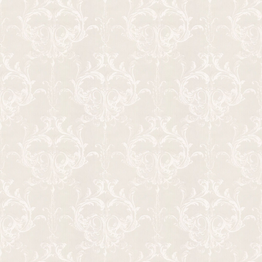 Blenheim Damask Wallpaper - Cream - by Architects Paper